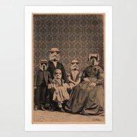 Meet The Troopers Art Print