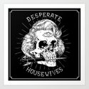 Desperate Housewives Art Print