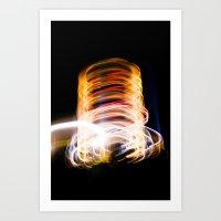 Light Me Up Art Print