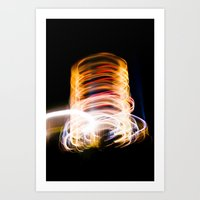 Light Me Up Art Print