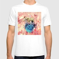 As Above, So Below Mens Fitted Tee White SMALL