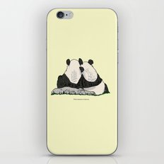 Find Someone To Lean On iPhone & iPod Skin