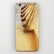 Yellow Push iPhone & iPod Skin