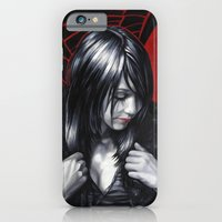 iPhone & iPod Case featuring Emo Girl by the Joe Doe
