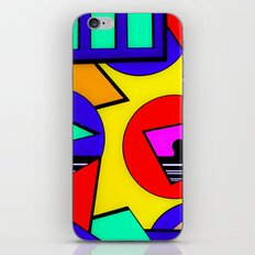 80's Punch iPhone & iPod Skin