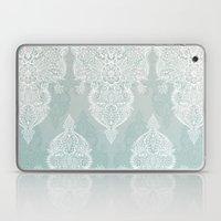 Lace & Shadows - Soft Sa… Laptop & iPad Skin
