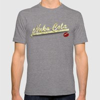 Nuka-Cola Mens Fitted Tee Tri-Grey SMALL