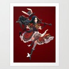 Royal Alice Art Print