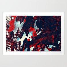 Fall in da jungle Art Print