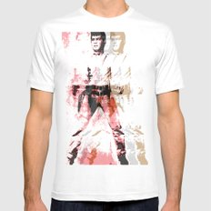 FPJ gin pomelo White Mens Fitted Tee SMALL