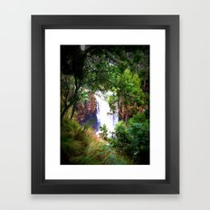 Trentham Falls Framed Art Print