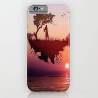 iPhone & iPod Case featuring LANDSCAPE - Solitary sister by Valerie Anne Kelly