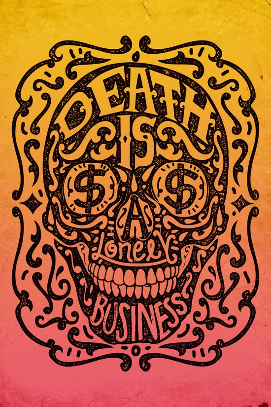 Death is a Lonely Business Art Print