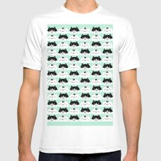 Kawaii Kitties Mens Fitted Tee SMALL White
