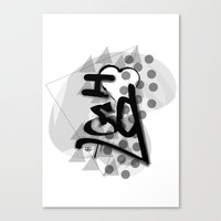 I heart Canvas Print