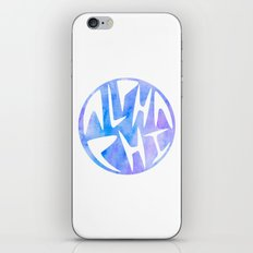 Aphi Graphic Watercolor Circle iPhone & iPod Skin