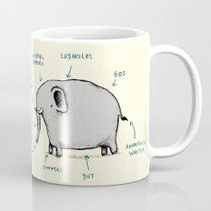 Anatomy of an Elephant Mug