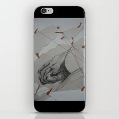 Holding On iPhone & iPod Skin