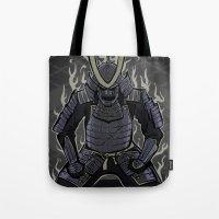Samurai Spirit Tote Bag