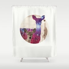 The spirit IV Shower Curtain