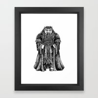Oakenshield Framed Art Print