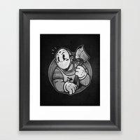HorrorToon 2: Nightmare on Toon Street Framed Art Print