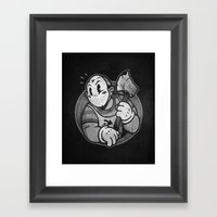 HorrorToon 2: Nightmare … Framed Art Print