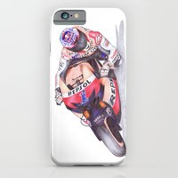 iPhone & iPod Case featuring Ballpoint Pen, 27 / 1 , Casey Stoner by One Curious Chip
