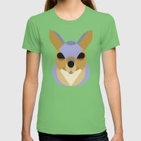 Squirrel Womens Fitted Tee Grass SMALL