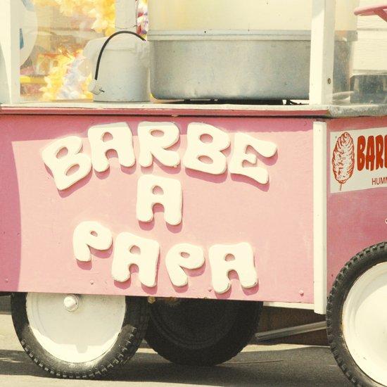 Barbe a Papa Art Print