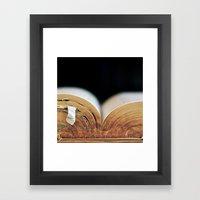 Tome Framed Art Print