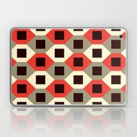 Hexagon pattern (red) Laptop & iPad Skin