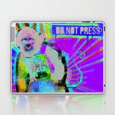 Press the button. Laptop & iPad Skin