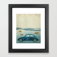 LOST AND FOUND Framed Art Print