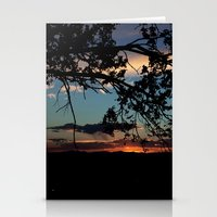 NM Sunset 6 Stationery Cards