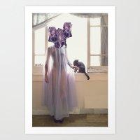 Inflorescencias 4 Art Print
