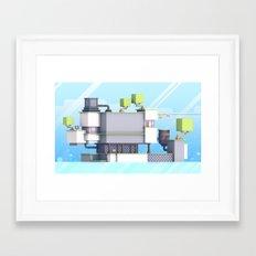 FEZ (Group Zine) Framed Art Print