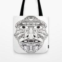 Psychedelic Mask 01  Tote Bag