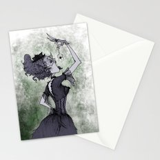 Perhaps She'll Die Stationery Cards