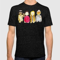 Royal Tenenbaum Bought T… Mens Fitted Tee Tri-Black SMALL