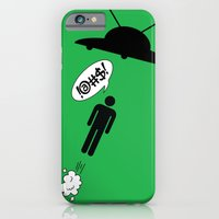 iPhone & iPod Case featuring UFO's by Li9z