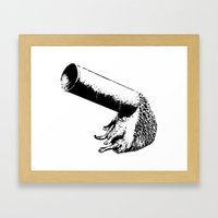 Curiosity is the key Framed Art Print