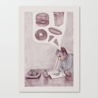 Health Canvas Print