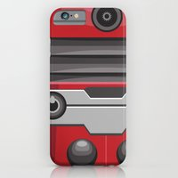 iPhone & iPod Case featuring Dalek Red - Doctor Who by Alex Patterson AKA frigopie76