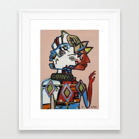 Dispositionism Framed Art Print