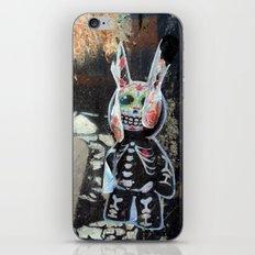 Dead bunny iPhone & iPod Skin