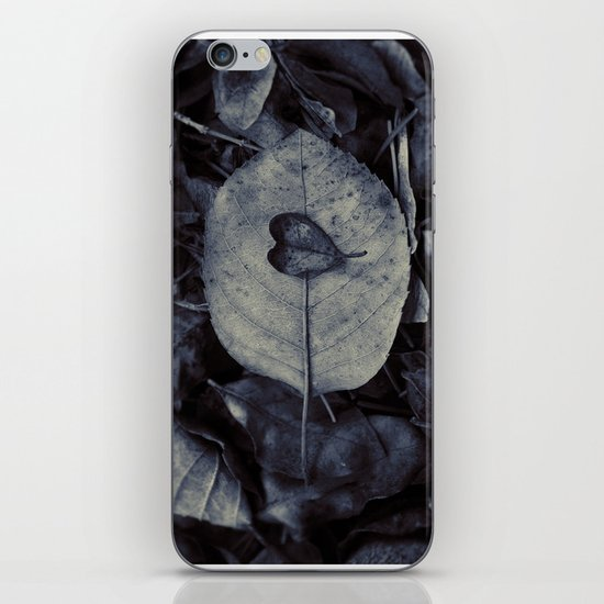 And love is what remains iPhone & iPod Skin