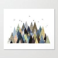 Mountain Dreaming Canvas Print