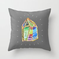 Mystery Of Childhood. Throw Pillow