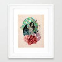 Sensasian II: Bambina Framed Art Print